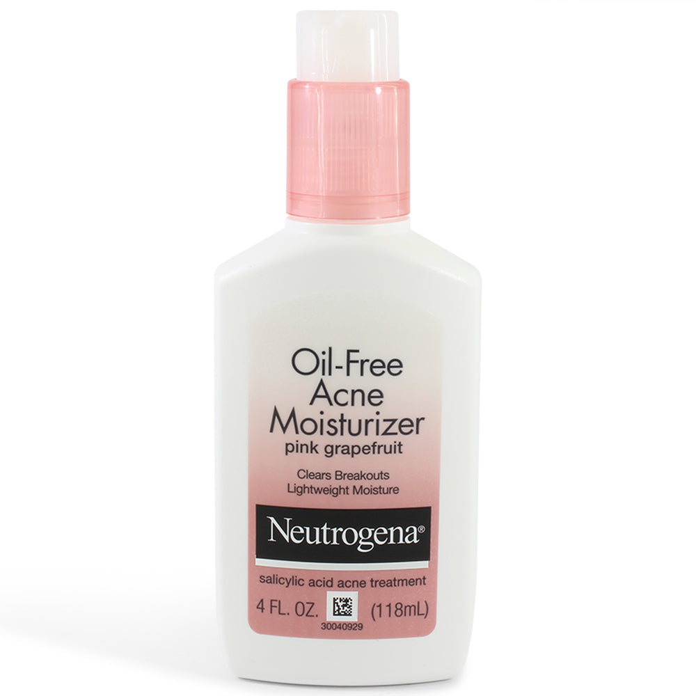 Neutrogena 118ml Oil-Free Acne Moisturizer Pink Grapefruit