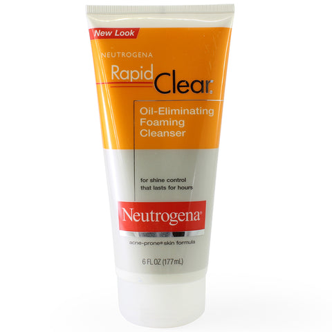 Neutrogena 177mL Rapid Clear Oil Eliminating Foaming Cleanser
