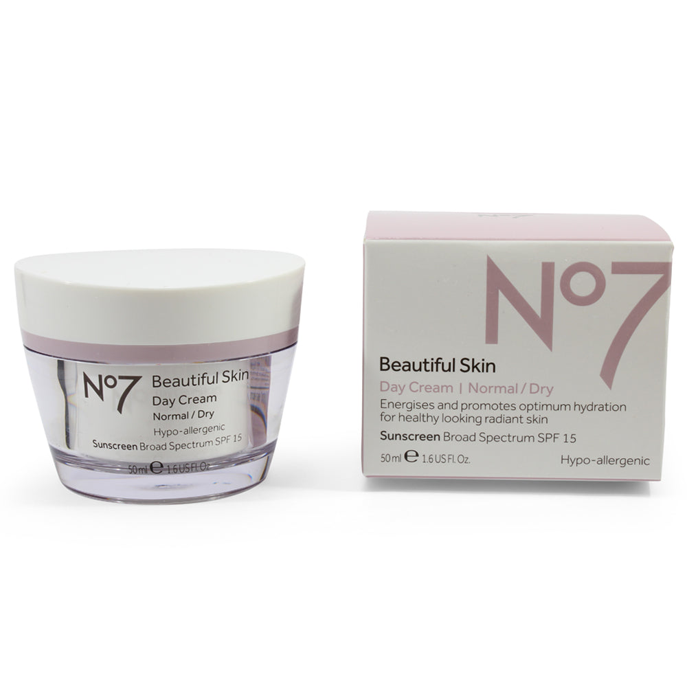 Boots No. 7 50mL Beautiful Skin Day Cream SPF15