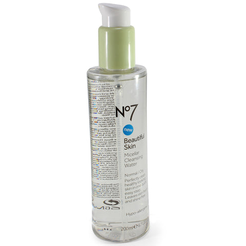 Boots No. 7 200mL Beautiful Skin Micellar Cleansing Water Normal/Oily
