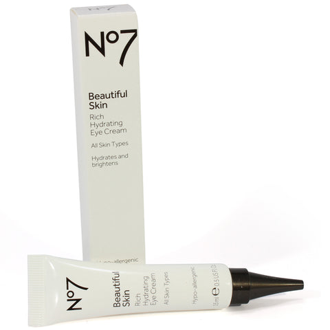 Boots No. 7 15mL Beautiful Skin Rich Hydrating Eye Cream