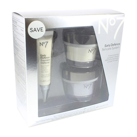 Boots No. 7 Early Defense 3 Piece Skincare System