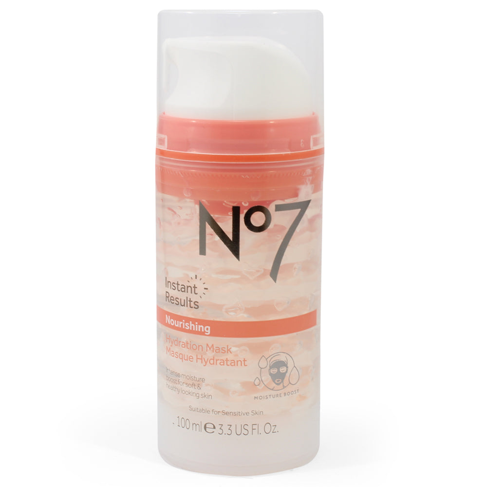 Boots No. 7 100mL Instant Results Nourishing Hydration Mask