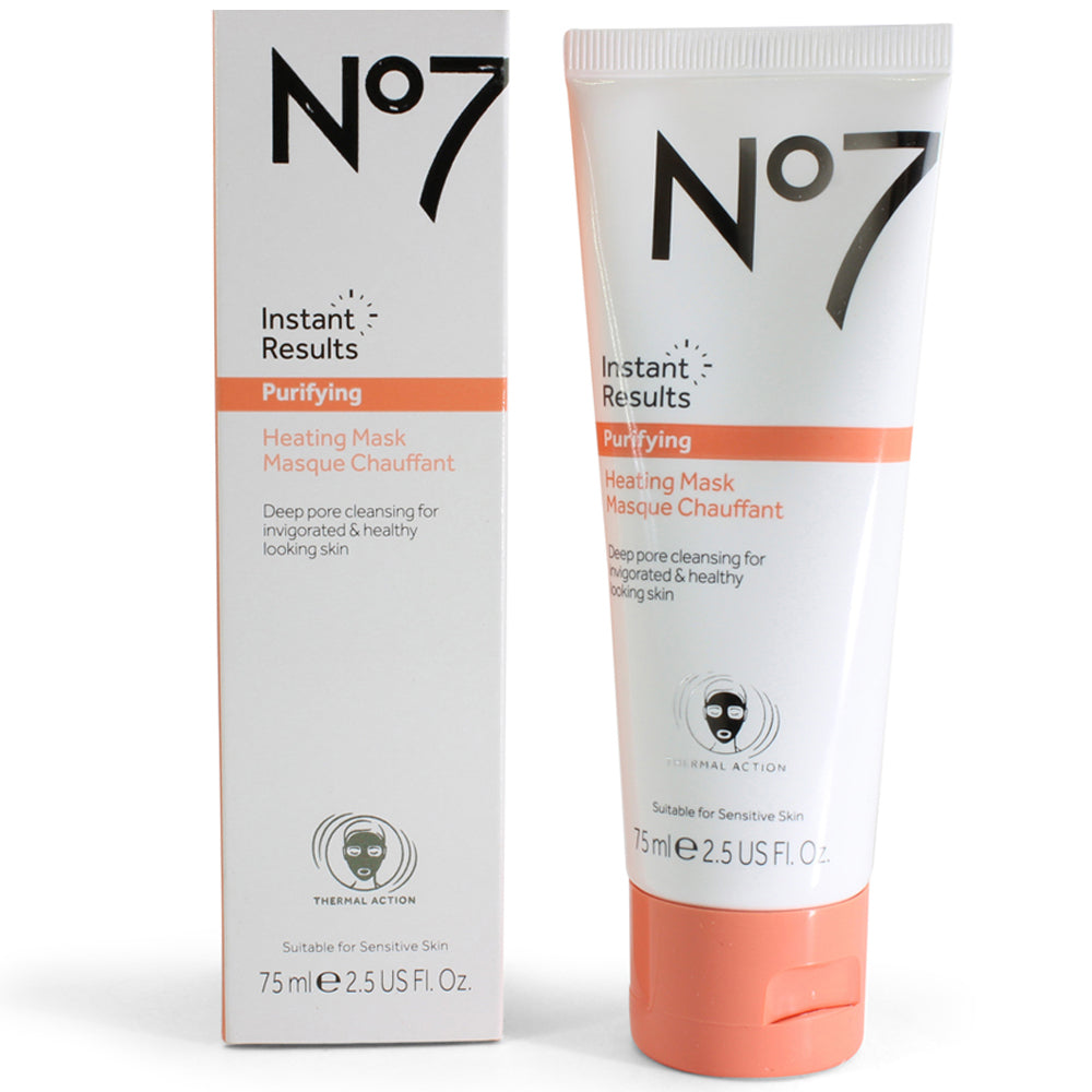 Boots No. 7 75mL Instant Results Purifying Heating Mask