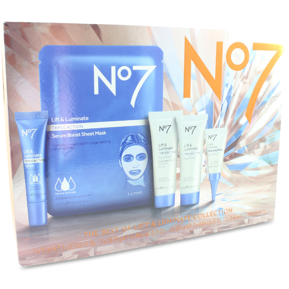 Boots No. 7 The Best of Lift and Luminate Collection 5 Piece Set