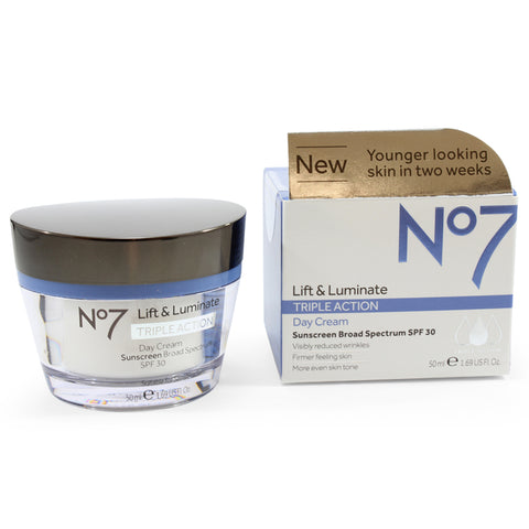 Boots No. 7 50mL Lift & Luminate Triple Action Day Cream