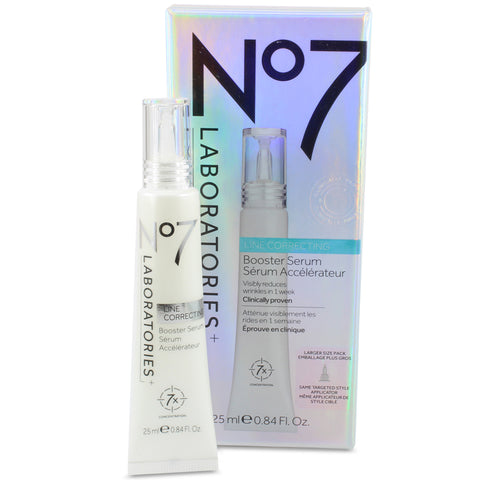 Boots No. 7 Laboratories 25mL Line Correcting Booster Serum