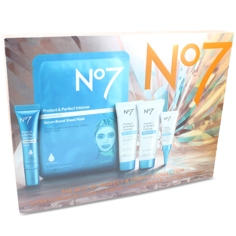 Boots No 7 The Best of Protect & Perfect Intense Advanced 5 Piece Set