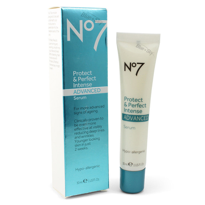 Boots No. 7 30mL Protect & Perfect Intense Advanced Serum Tube