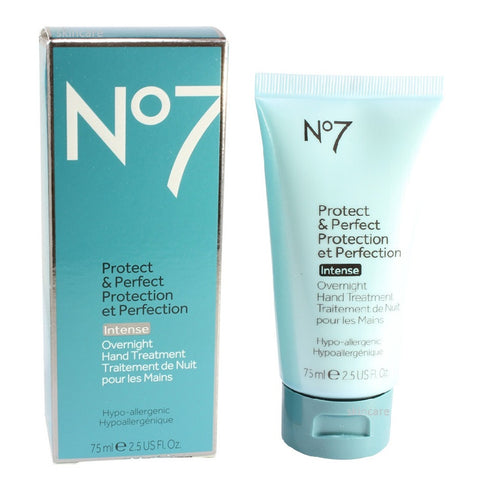 Boots No. 7 75mL Protect & Perfect Intense Overnight Hand Treatment