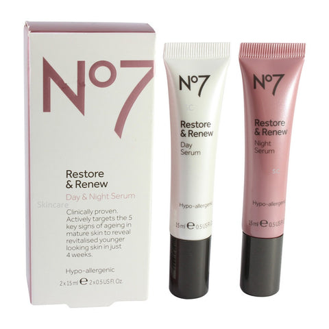 Boots No. 7 30mL Restore & Renew Day & Night Serum