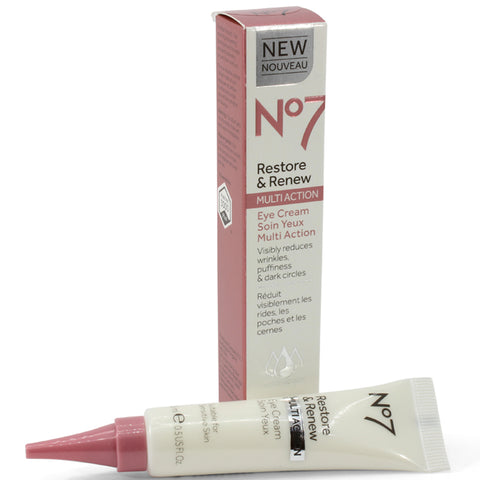 Boots No. 7 15mL Restore & Renew Multi Action Eye Cream