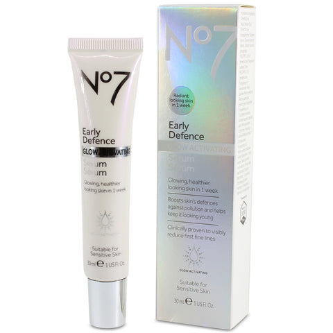 Boots No. 7 30mL Early Defense Glow Activating Serum