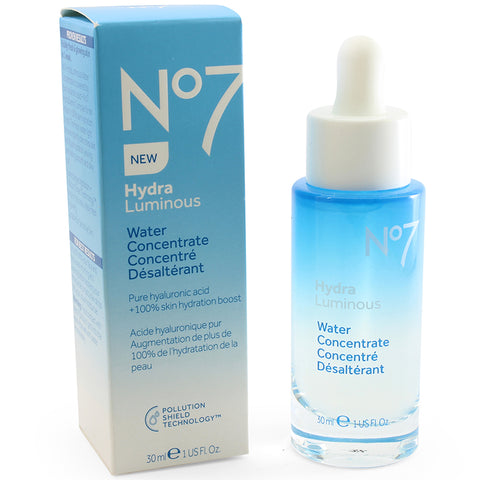 Boots No. 7 30mL HydraLuminous Water Concentrate