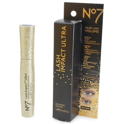 Boots No 7 7mL Lash Impact Ultra Mascara (Black)