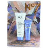 Boots No. 7 Lift and Luminate Two-Pack 25mL Day Cream & 5mL Serum