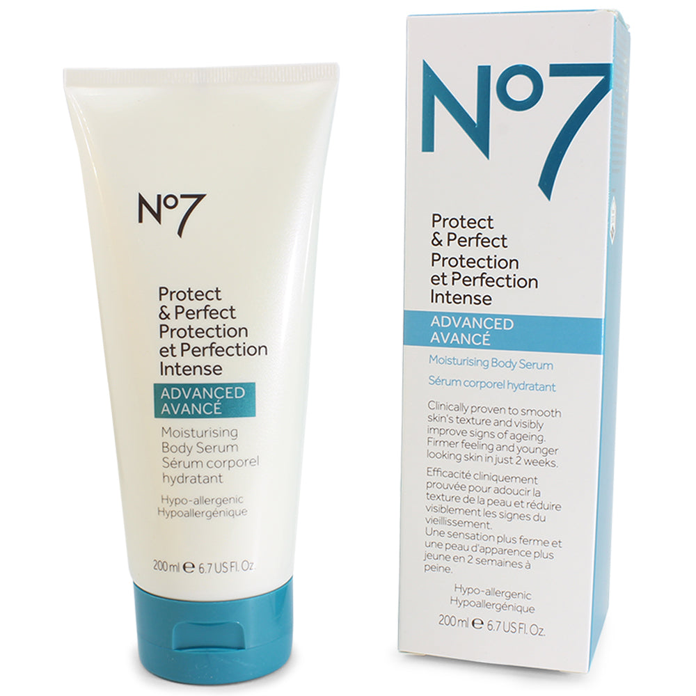 Boots No. 7 200mL Protect & Perfect Intense Advanced Moisturising Body Serum