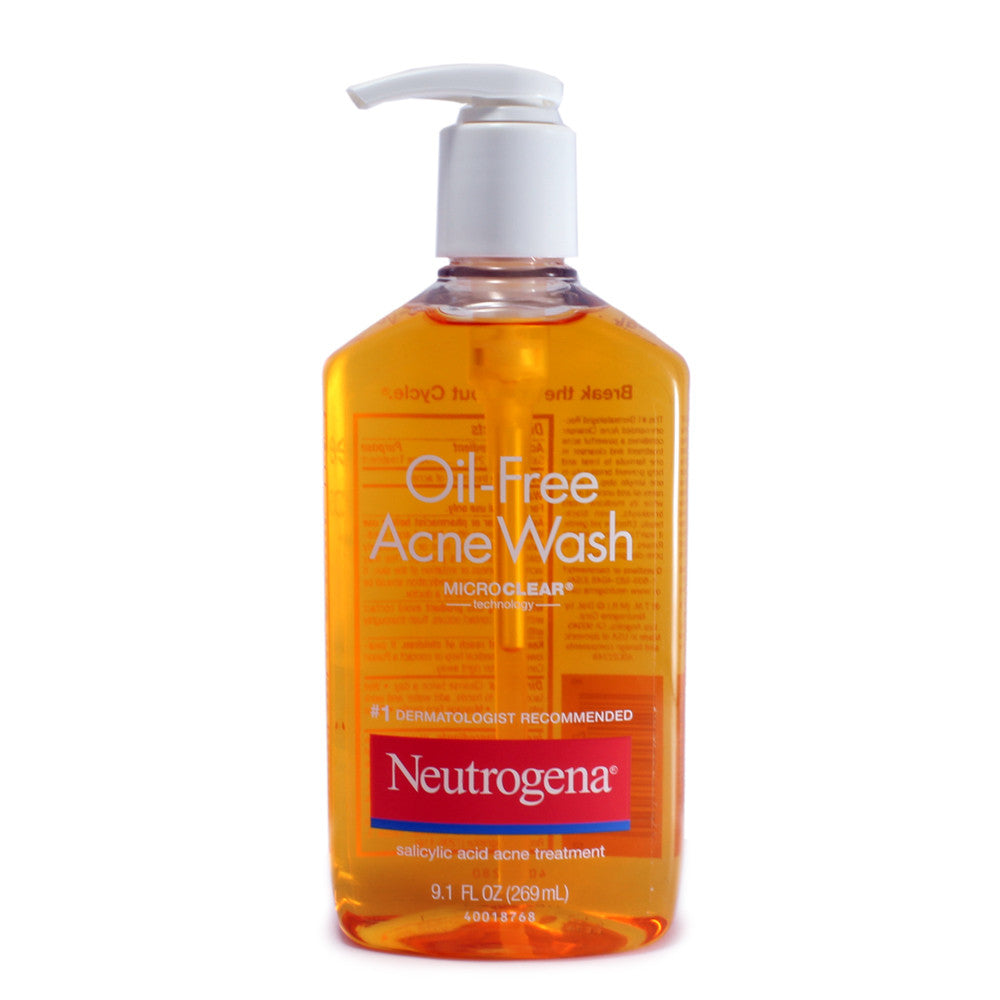 Neutrogena 269ml Oil-Free Acne Wash