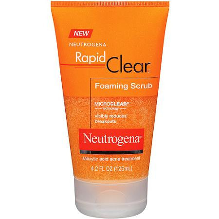 Neutrogena 125mL Rapid Clear Foaming Scrub
