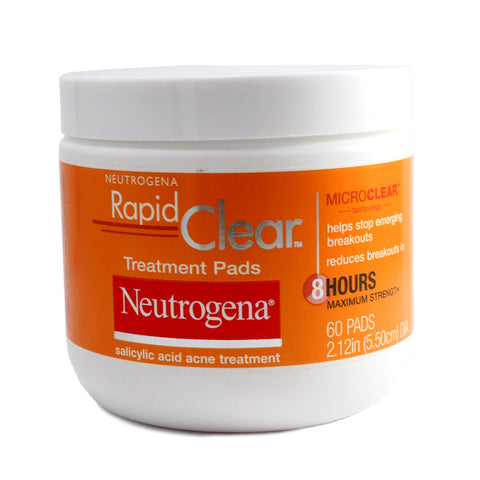 Neutrogena 60 x Rapid Clear Acne Treatment Pads