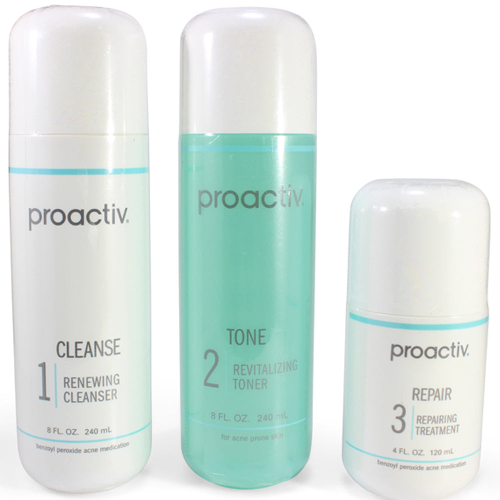 Proactiv 120 Day 4 Month 3 Step Skin Cleansing Solution System