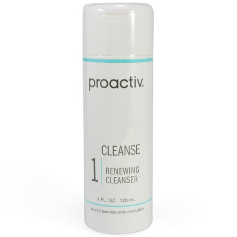 Proactiv 120ml Renewing Cleanser Step 1 Acne Treatment Solution