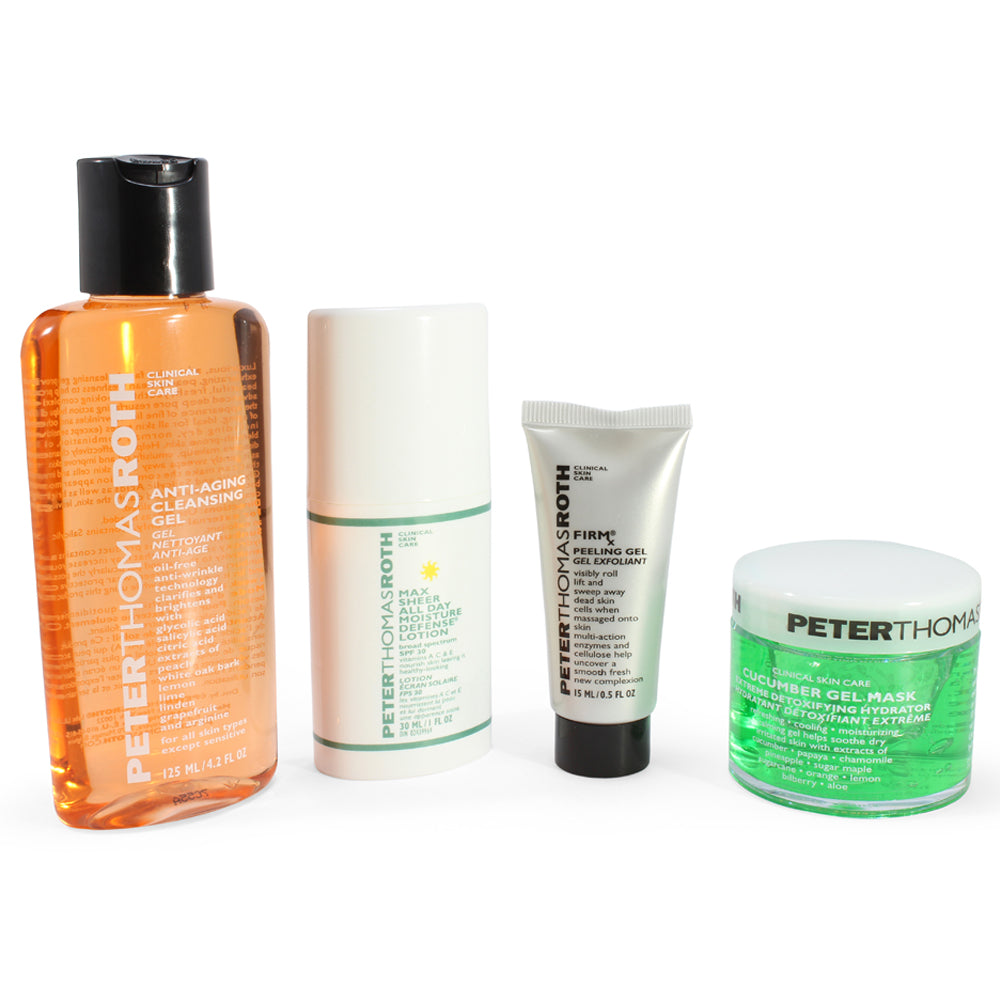 Peter Thomas Roth 4 Piece Cult Classics Collection with Bonus