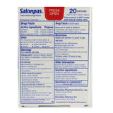 Salonpas 20 Patches for Pain Relief in Muscles and Joints 7.2 x 4.6 cm