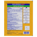 Salonpas 1 x Hot Capsicum Pain Relief Patch 13 x 18cm