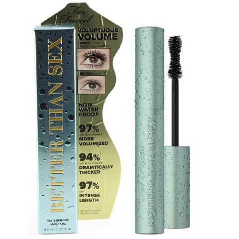 Too Faced 8mL Better Than Sex Waterproof Mascara Full Size