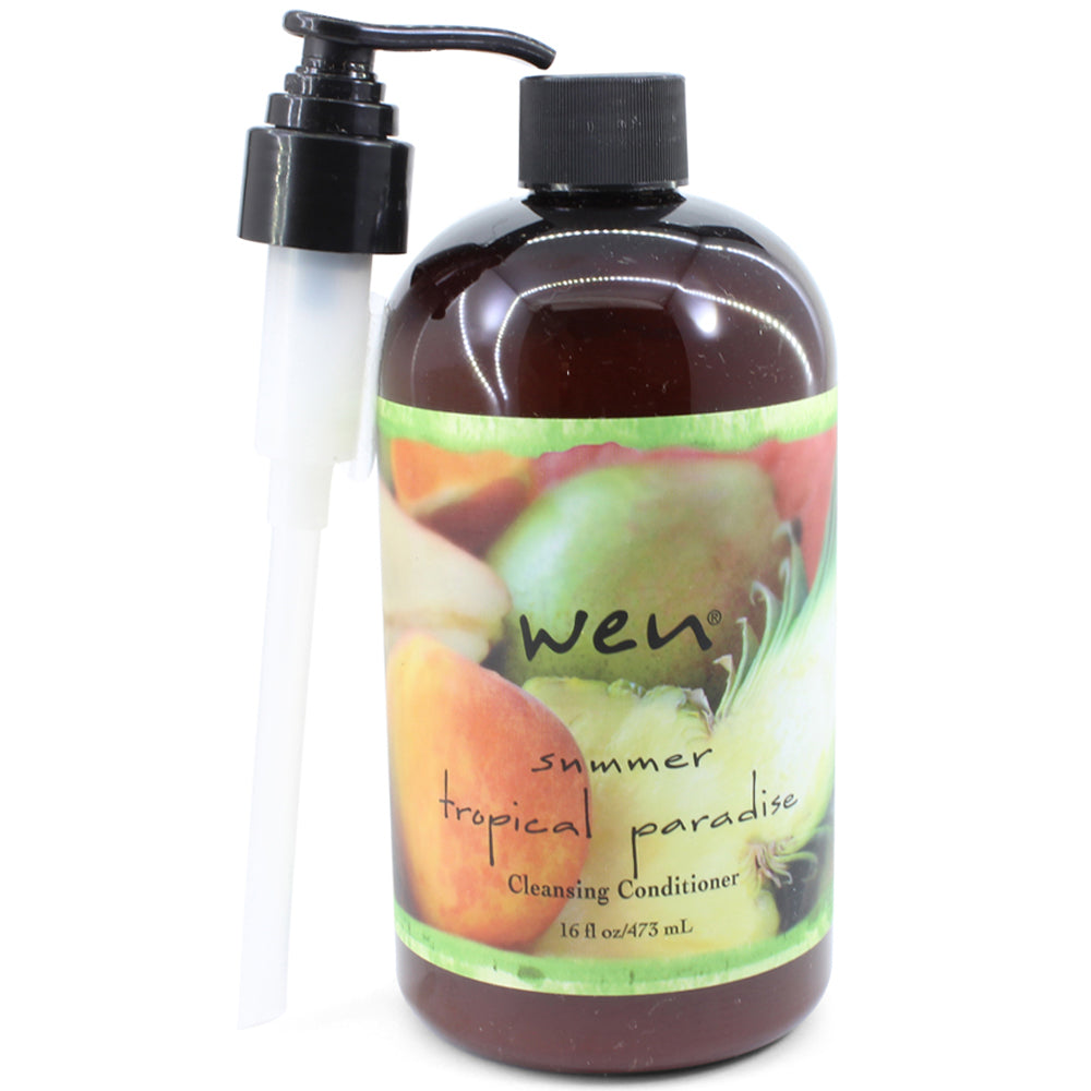 Wen by Chaz Dean 480mL Summer Tropical Paradise Cleansing Conditioner