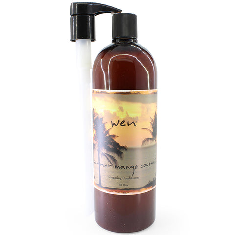 Wen 960mL (32 oz) Summer Mango Coconut Cleansing Conditioner