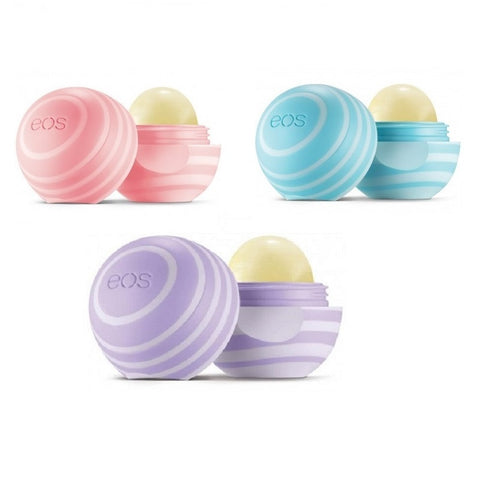 eos 3 Different Visibly Soft Lip Balm Spheres