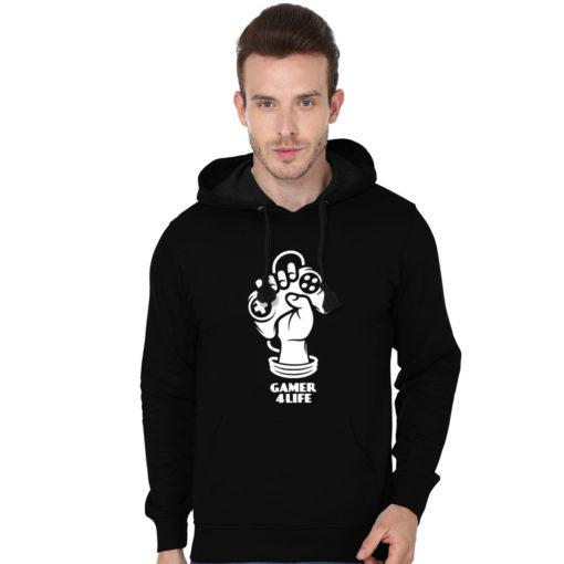 Gamer 4 Life-Men Hoodies