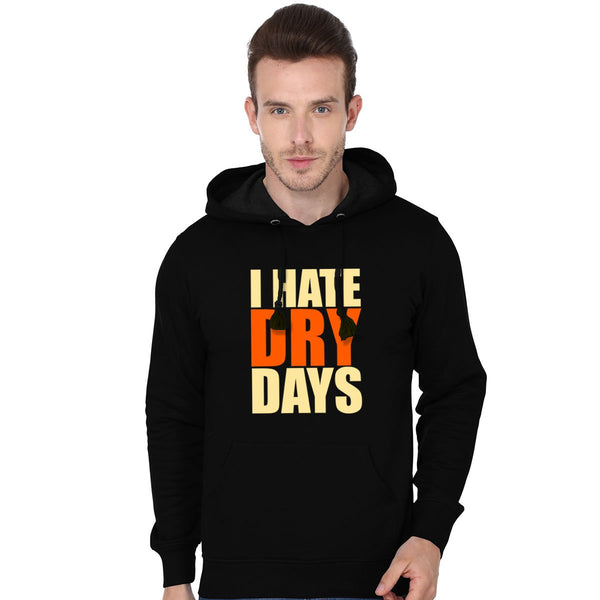 Hate Dry Days - Men Hoodies
