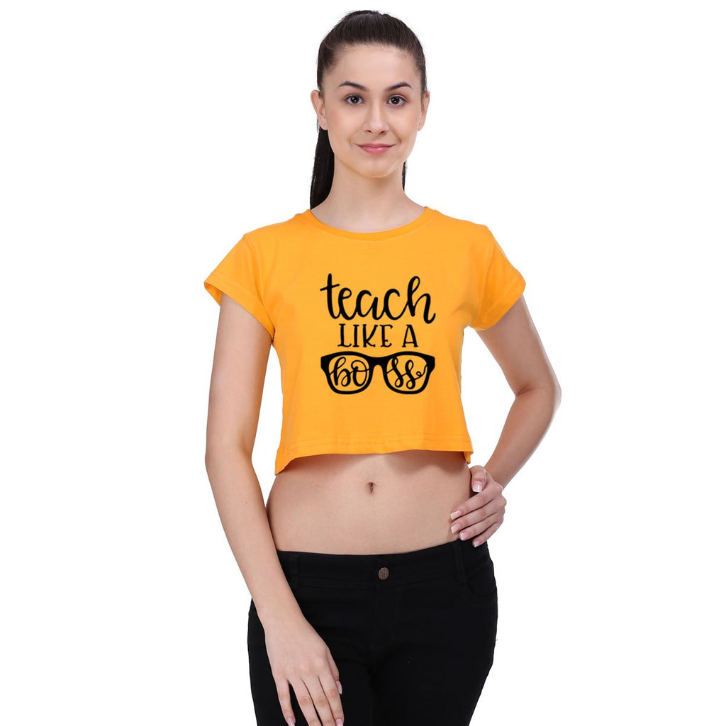 Tech Like A Boss - Crop Top