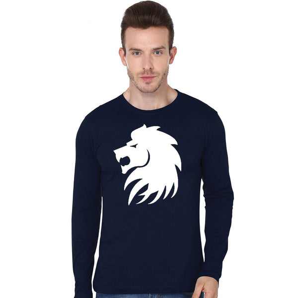 Lion -Full Sleeve T Shirt