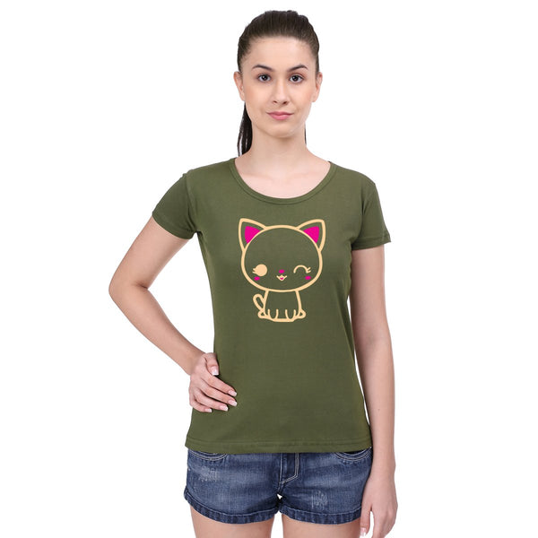 Mini Meow -  Women T-Shirts