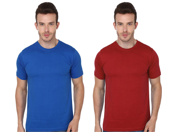 Round T-Shirt Combo Pack of 2