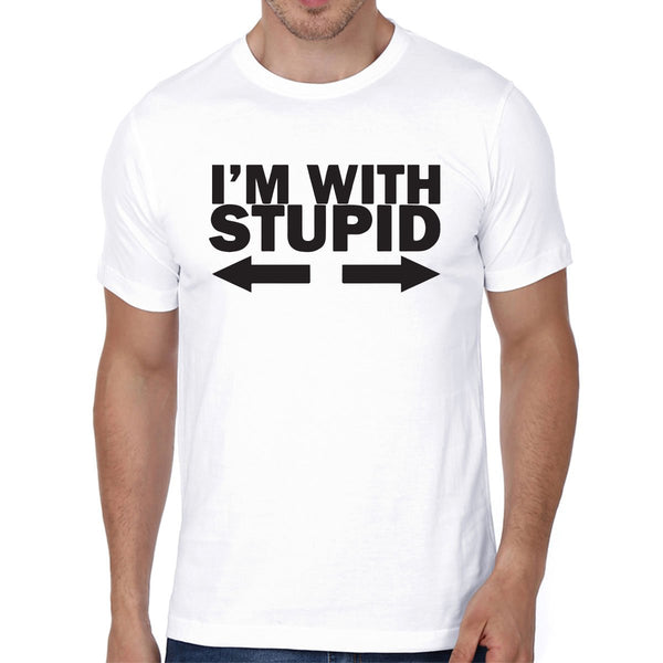 I am With Stupid - Men T-Shirts