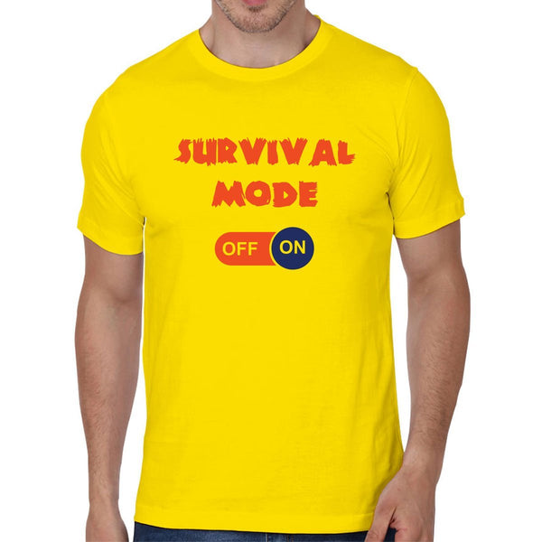 Survival Mode - Men T-Shirts