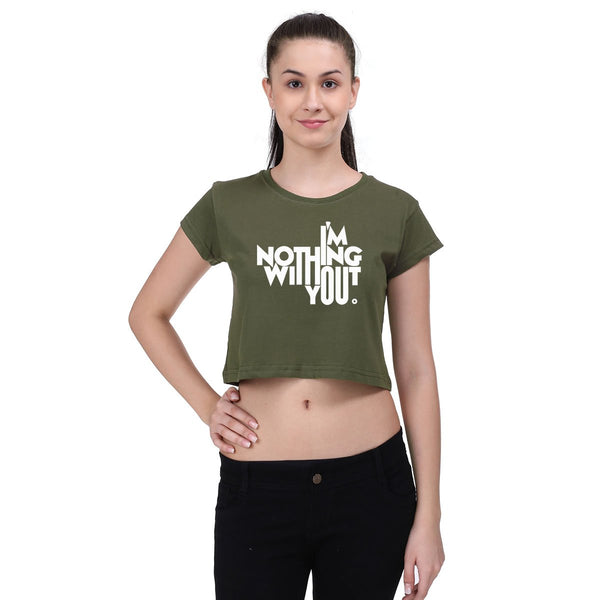 I MNothing Without You- Crop Top