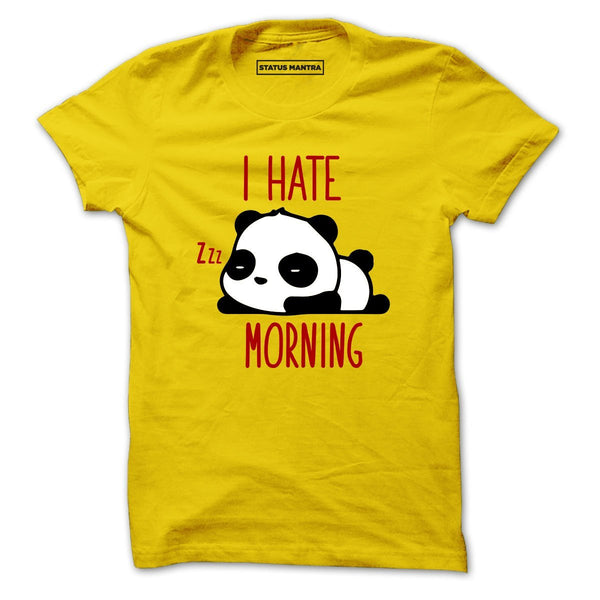 I Hate Morning - Men T-Shirt