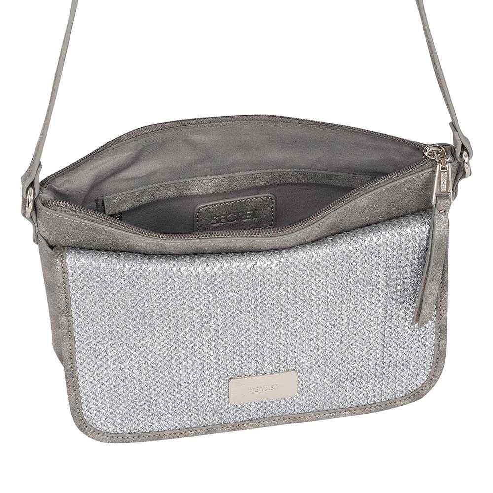 Cartera Atlanta Ss20 Cross Bag Grey M