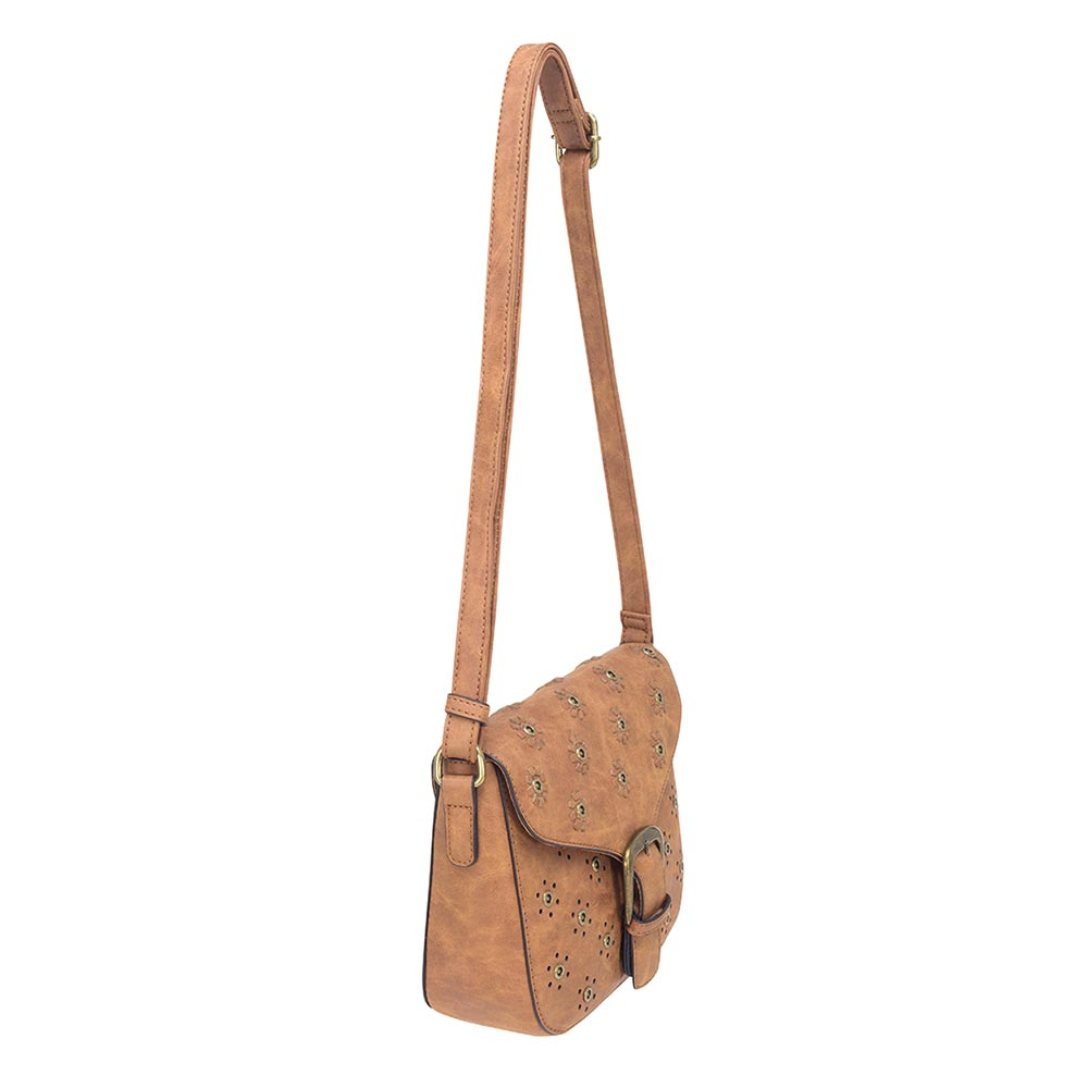 Cartera Viena Satchel Bag Café M
