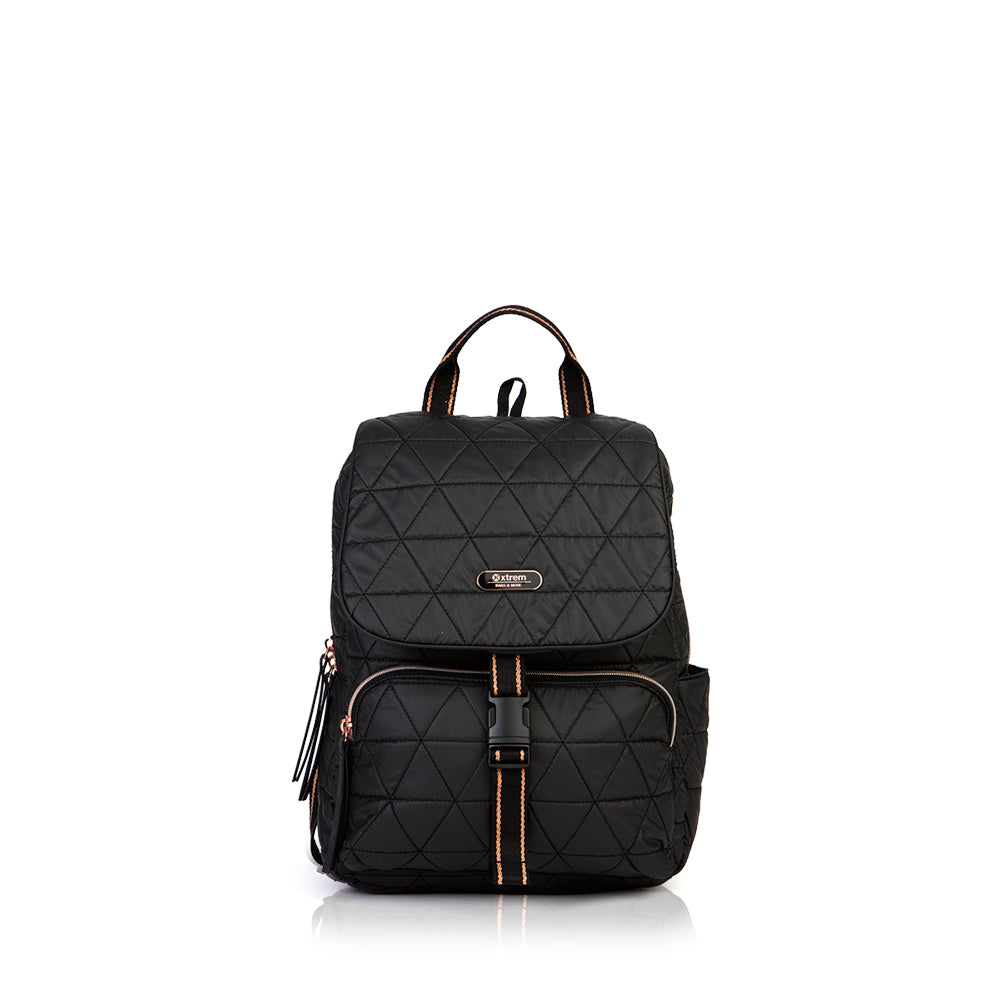 Mochila Flap 024 Black Triangle