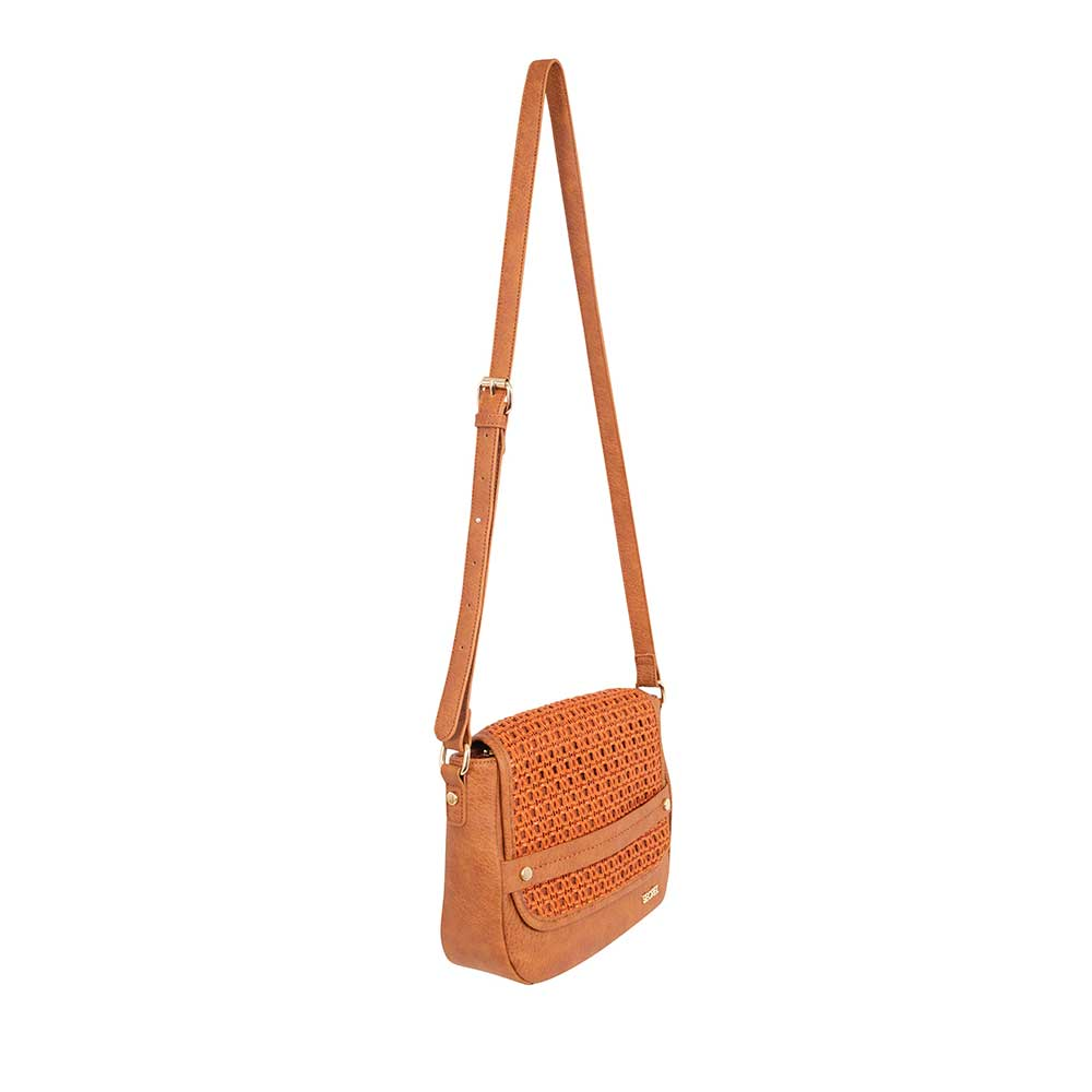 Cartera Anakena Cross Bag Medium Brown S