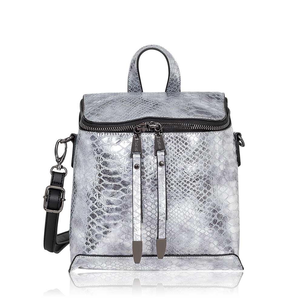 Mochila Manhattan Backpack Silver S