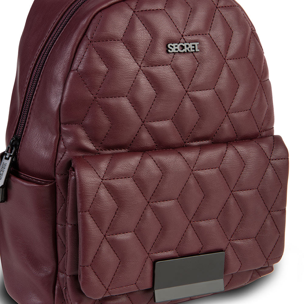 Mochila Waterford Fw20 Backpack Burgundy M
