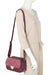 Cartera Seul Fw19 Cross Bag S 2Dv Burgundy
